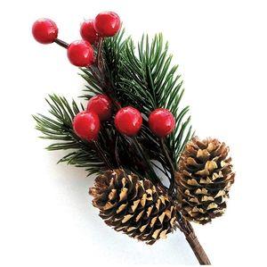 Berry Stem Holiday Decor 8 pack
